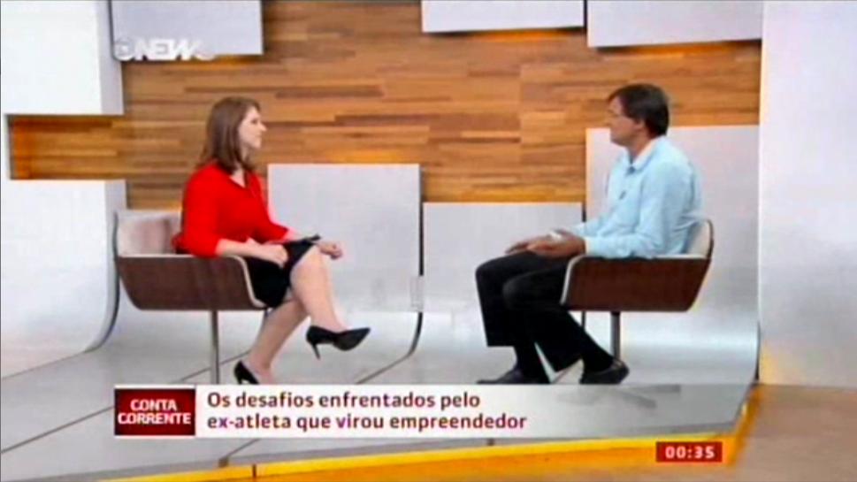 Pedro Chiamulera conta para o Conta Corrente sobre sua a transição de atleta olímpico para empreendedor