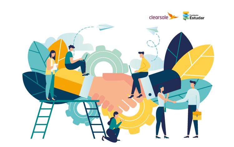 ClearSale e Fundação Estudar agora são parceiras na busca por novos talentos